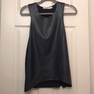 Bishop + Young Leather front Tank top